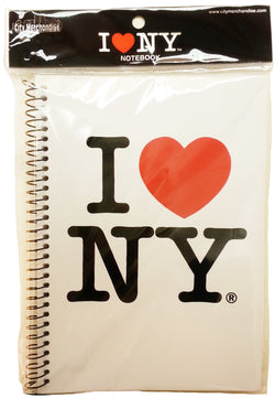 I Love NY Spiral Notebook