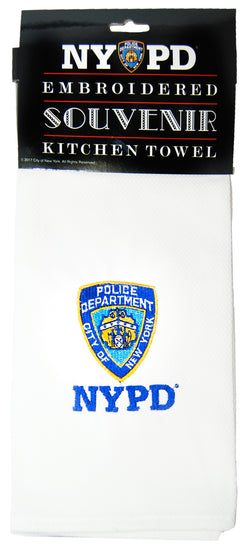NYPD towel
