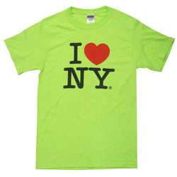 I Love NY Neon Green T-Shirt