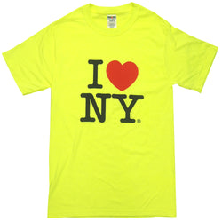 I Love NY Neon Yellow T-Shirt