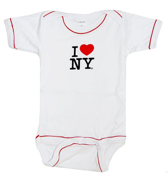 I Love New York Baby One-Sie BodySuit
