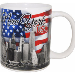 New York USA 11 oz Mug