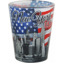 New York Patriotic Shotglass