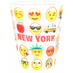 Original Emoji Shotglass with New York Personality