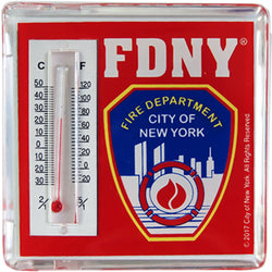 FDNY Thermometer Magnet