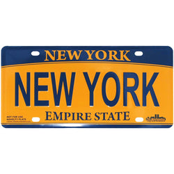 New York Novelty License Plate