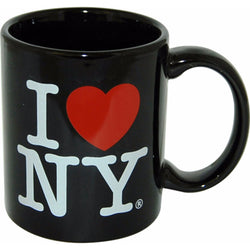I love NY black and bold mug