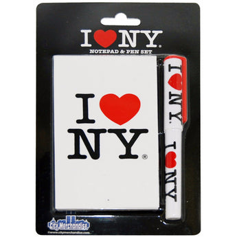 I love ny pen and notebook