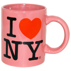 Pink I Love New York Mug