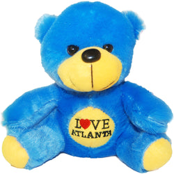 Blue I love Atlanta bear