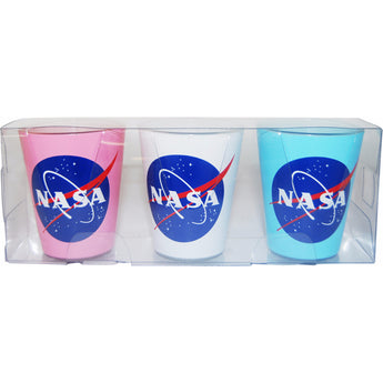 Set of 3 NASA Shotglass's