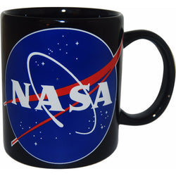 NASA 11oz Black Mug