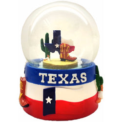 The Great State of Texas Large 65mm Snowglobe