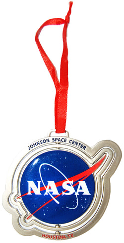 NASA Space Station Meatball Logo Spinning Christmas Decorative Ornament