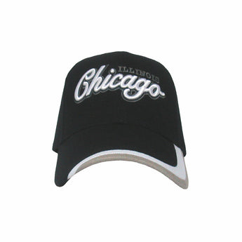 Black cicago baseball cap
