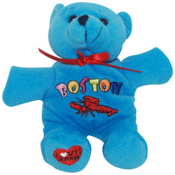 bright blue beaine bear- boston