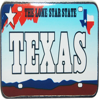 TEXAS LICENSE PLATE MAGNET
