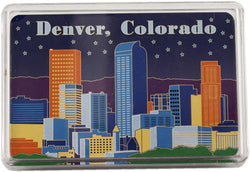 Denver Colorado Playing Cards