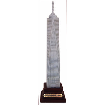 Large 8 Inch Freedom Tower- One World Trade Center Replica