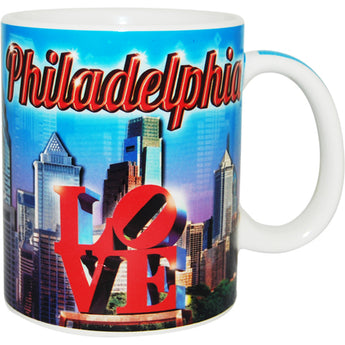 Philadelphia City Skyline 11oz Coffee Mug