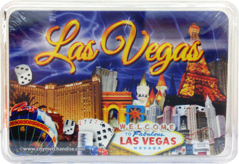 blue las vegas playing cards casino nevada efiel tower