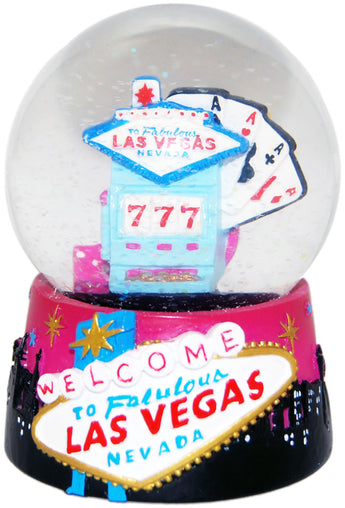 Welcome to Las Vegas 65mm Snowglobe