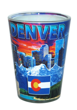 Denver Colorado Shotglass
