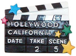 Hollywood California Magnet