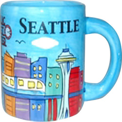 110z blue seattle mug