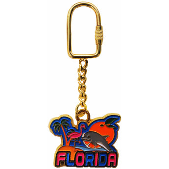 Florida's Nature Metal Keychain