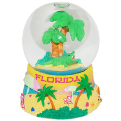 Large Florida Palm Trees Snowglobe