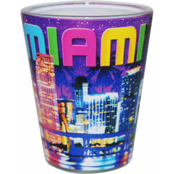 Miami Shotglass- Nightlife Collection