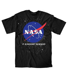 NASA It Is Rocket Science Kids Stars Designed Shirt