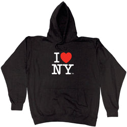 I Love New York Black Comfy Hoodie Sweatshirt