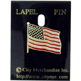 Amercian flag lapel pin