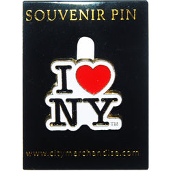 I Love New York Lapel Pin