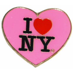 I love NY cut out magnet