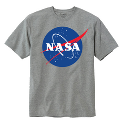 NASA TShirt- Grey