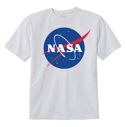 NASA TShirt- White
