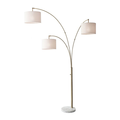 BOWERY 3-ARM ARC LAMP