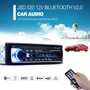 Multifunctional Bluetooth Car Radio - USB, SD Card, V2.0 Hands-Free