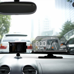 Car GPS Navigation Navigator Map / Head Up Display / 360 Degree Rotation Base for Safe Driving