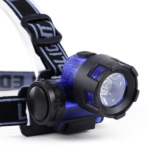Head Light Flashlight Water Resistant LED Headlamp For Hiking/Camping/Night Fishing