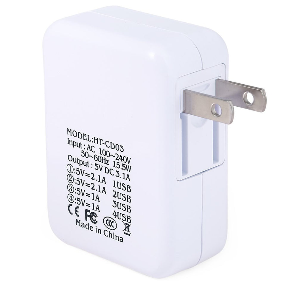 Home Wall Power Supply Adapter Charger US/EU Plug