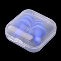 Soft Silicone Ear Plugs For Ear Protection and Noise Reduction While Sleeping, Studying, Swimming or Traveling