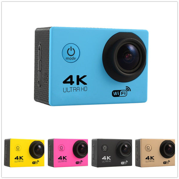 4K WiFi 170 Degree Wide Angle Action Camera