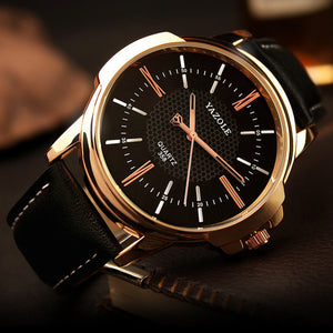 Gold Wrist Watch Men 2016 Top Brand Luxury