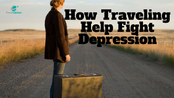 How Traveling Help Fight Depression
