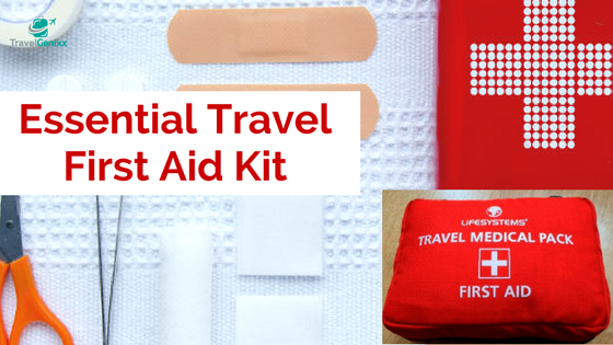 Essential Travel First Aid Kit