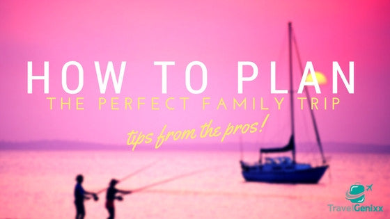 How to Plan the Perfect Family Trip
